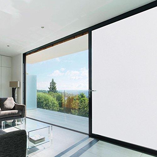 folien gigant milchglasfolie frosted fensterfolie selbstklebend t nungsfolie sichtschutzfolie 75. Black Bedroom Furniture Sets. Home Design Ideas
