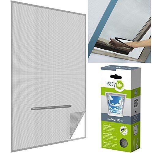 insektenschutz dachfenster inkl klettband 140 x 170 cm. Black Bedroom Furniture Sets. Home Design Ideas