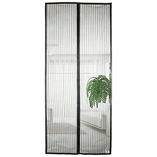 insektenschutz magnetvorhang weiss 80 90 100x210 220 cm t rnetz fliegengitter magnet reppilc. Black Bedroom Furniture Sets. Home Design Ideas