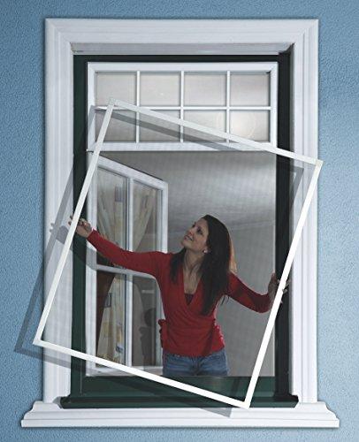 Rhino screen insektenschutz fenster wei 100 x 120 cm for Fenster hammer