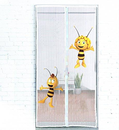 luftdurchl ssiges fliegengitter schlie t automatisch und in sekundenschnelle original biene. Black Bedroom Furniture Sets. Home Design Ideas