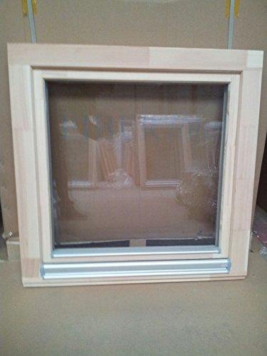 Holzfenster 80 x 80 b x h europrofil 1 fl gelig fichte - Fenster 2 flugelig ...