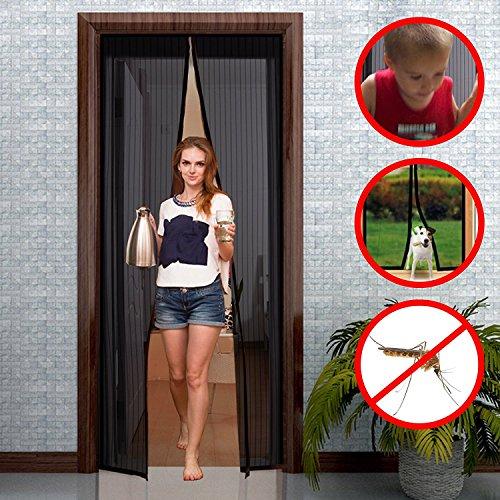 balfer magnet fliegengitter t r insektenschutz vorhang 90x210cm magnet fliegenvorhang. Black Bedroom Furniture Sets. Home Design Ideas