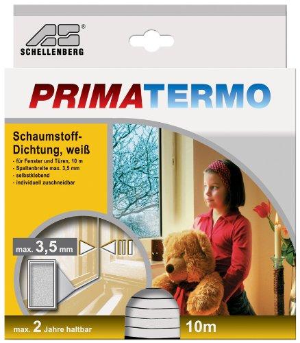 schellenberg 66201 schaumstoffdichtung 9 x 6 mm 10 m wei reppilc. Black Bedroom Furniture Sets. Home Design Ideas