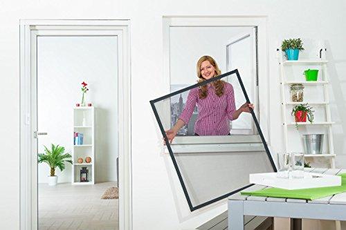 insektenschutz t r master slim 100 x 210 cm mit alurahmen in wei anthrazit oder braun und. Black Bedroom Furniture Sets. Home Design Ideas