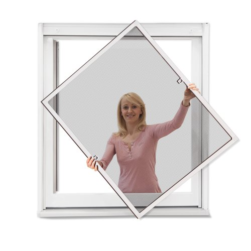 120 cm x 240 cm wei profi insektenschutz premium slim plus fliegengitter f r t r als. Black Bedroom Furniture Sets. Home Design Ideas