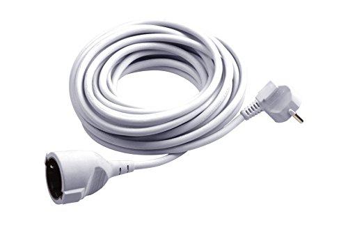 meister schutzkontakt verl ngerung 5 m kabel wei. Black Bedroom Furniture Sets. Home Design Ideas