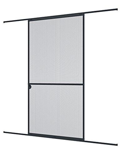 windhager insektenschutz expert schiebet r fliegengitter aluminirumrahmen f r t ren 120 x 240. Black Bedroom Furniture Sets. Home Design Ideas