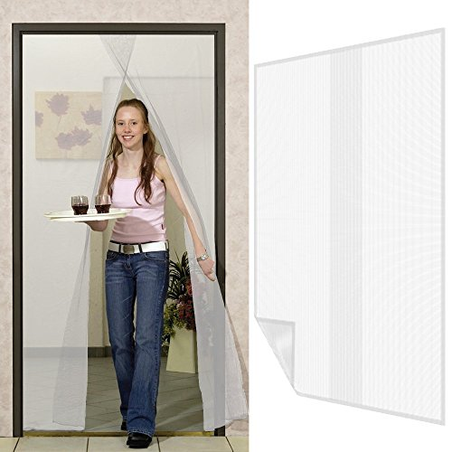 fliegengitter f r fenster fliegennetz aus polyester mit 5 6 m klettband moskitonetz durchsichtig. Black Bedroom Furniture Sets. Home Design Ideas