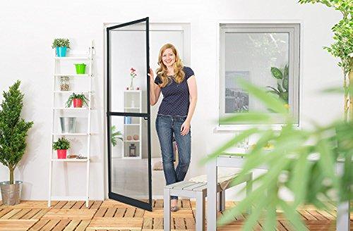 insektenschutz fliegengitter t r alurahmen master slim auf ma geschnitten selbstbausatz oder. Black Bedroom Furniture Sets. Home Design Ideas