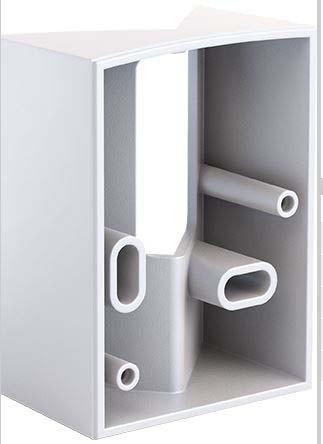 steinel eck wandhalter 608835 sensiq s ws zubeh r f r. Black Bedroom Furniture Sets. Home Design Ideas