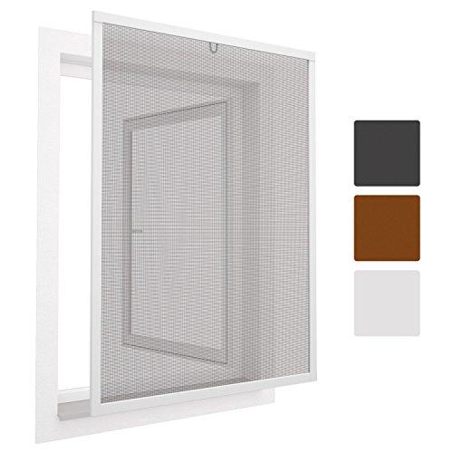 top multi insektenschutz gitter rahmen in wei 130 150 cm zum einh ngen fiberglas alu. Black Bedroom Furniture Sets. Home Design Ideas