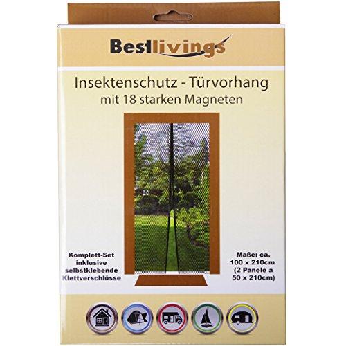 Insektenschutz t rvorhang mit 18 starken magneten m ckennetz fliegennetz t ren insektenschutz - Fenster turen bauelemente busch duisburg ...
