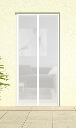 magnet lamellenvorhang deluxe magnetvorhang t rvorhang fliegennetz insektenschutz vorhang 100. Black Bedroom Furniture Sets. Home Design Ideas