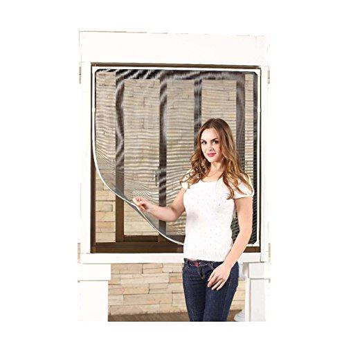 Style home magnet kunststoff rahmen fliegengitter fenster insektenschutz m ckengitter neu 130 - Fenster style ...