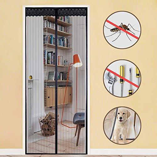 rabbitgoo fliegengitter t r insektenschutz magnetvorhang moskitonetz f r t r 90 210cm. Black Bedroom Furniture Sets. Home Design Ideas